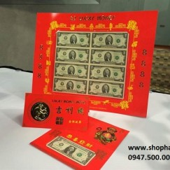 2USD 8888 Lucky Money Sheet