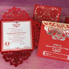 Thiệp cưới giá từ 5k - 8k